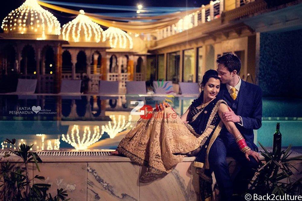 romantic wedding in udaipur